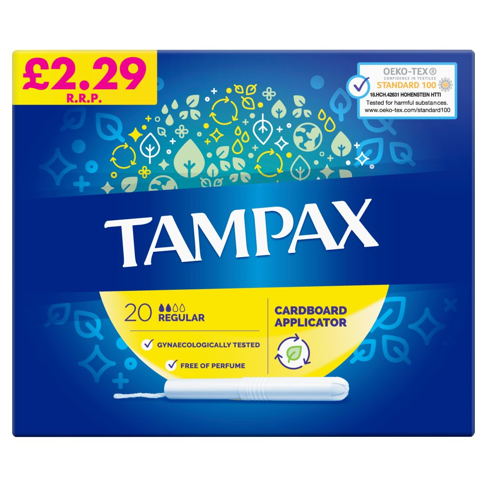 Tampax Compak Regular £2.99