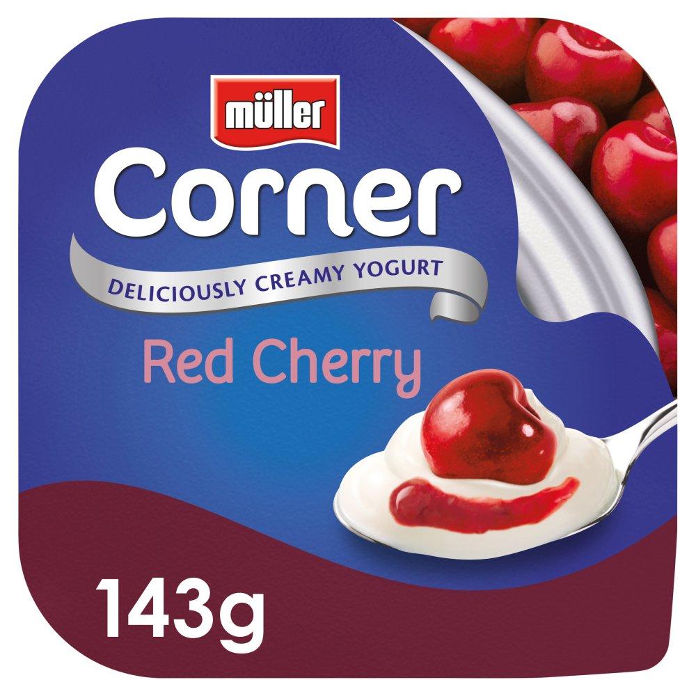 Müller Corner Red Cherry Yogurt 143g