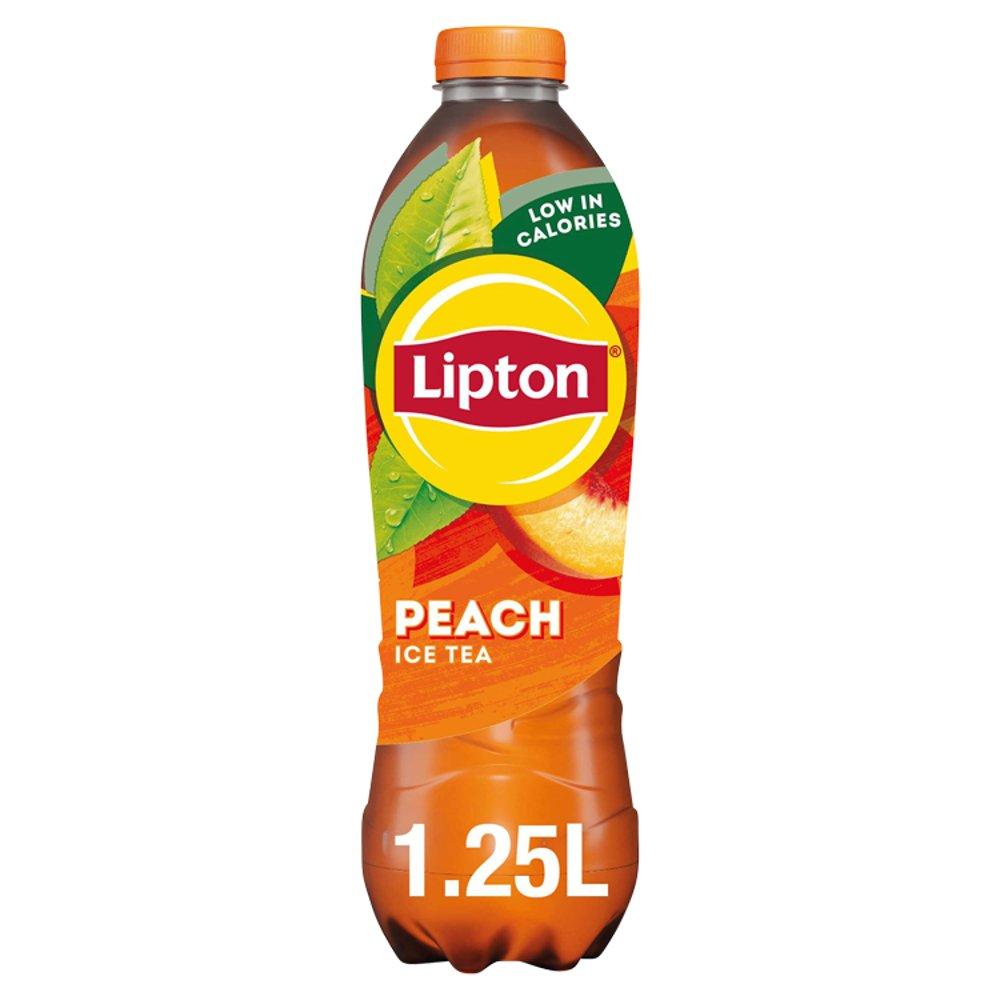 Lipton Ice Tea Peach Flavoured Still Soft Drink 1.25L