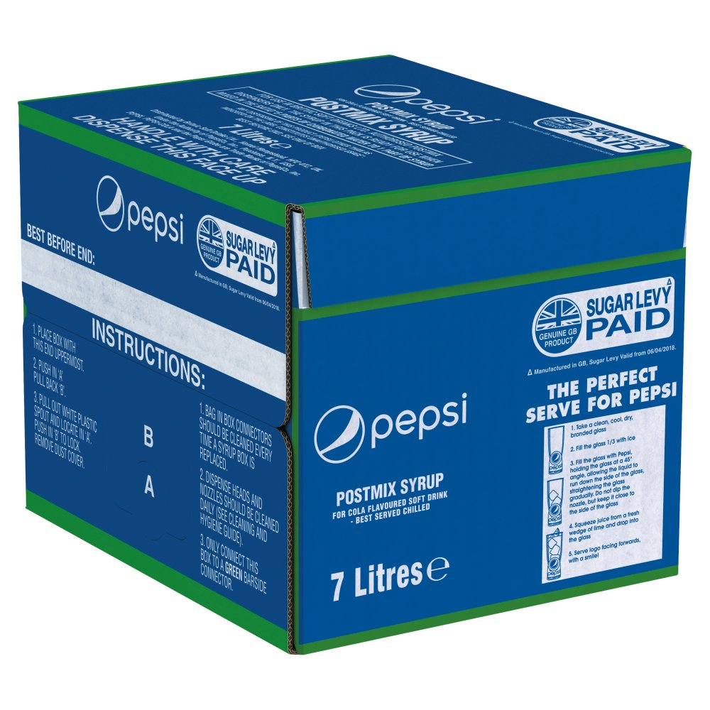 Pepsi Postmix Syrup 7 Litres :: Bestway Wholesale