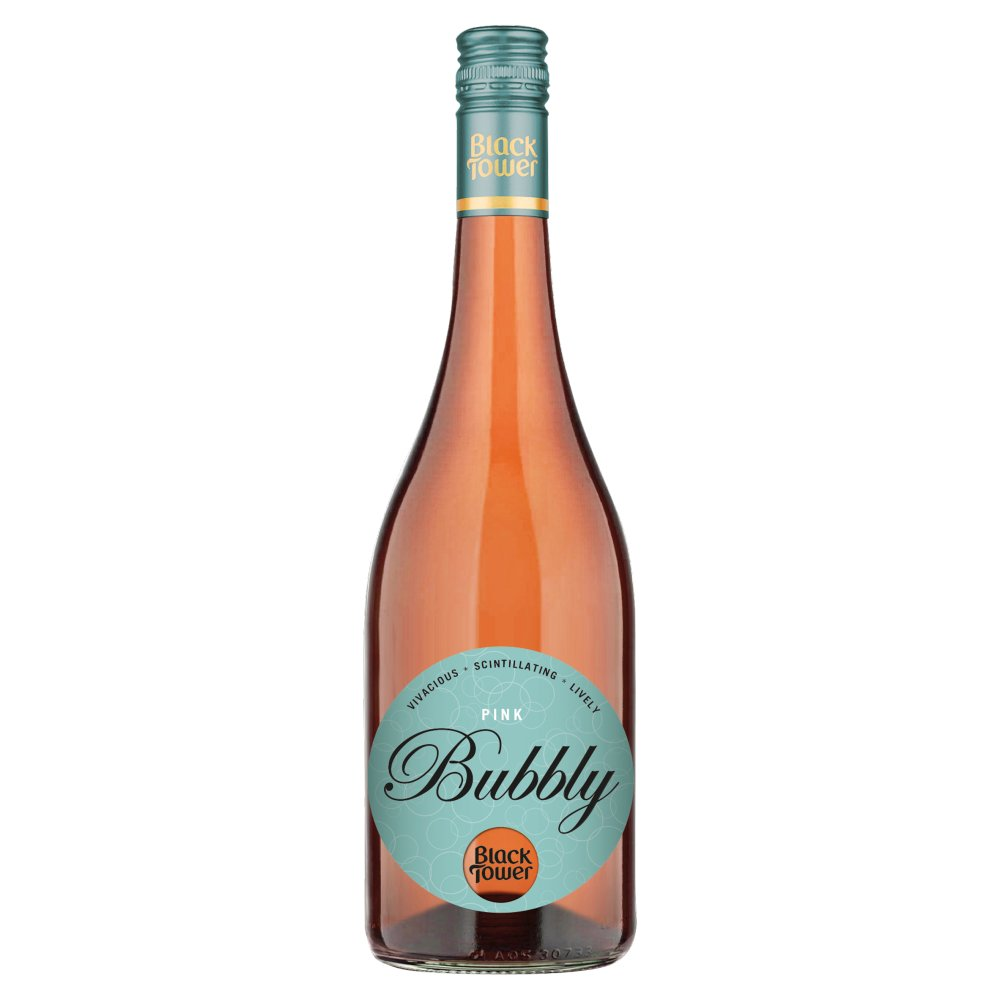 Black Tower Pink Bubbly 75cl
