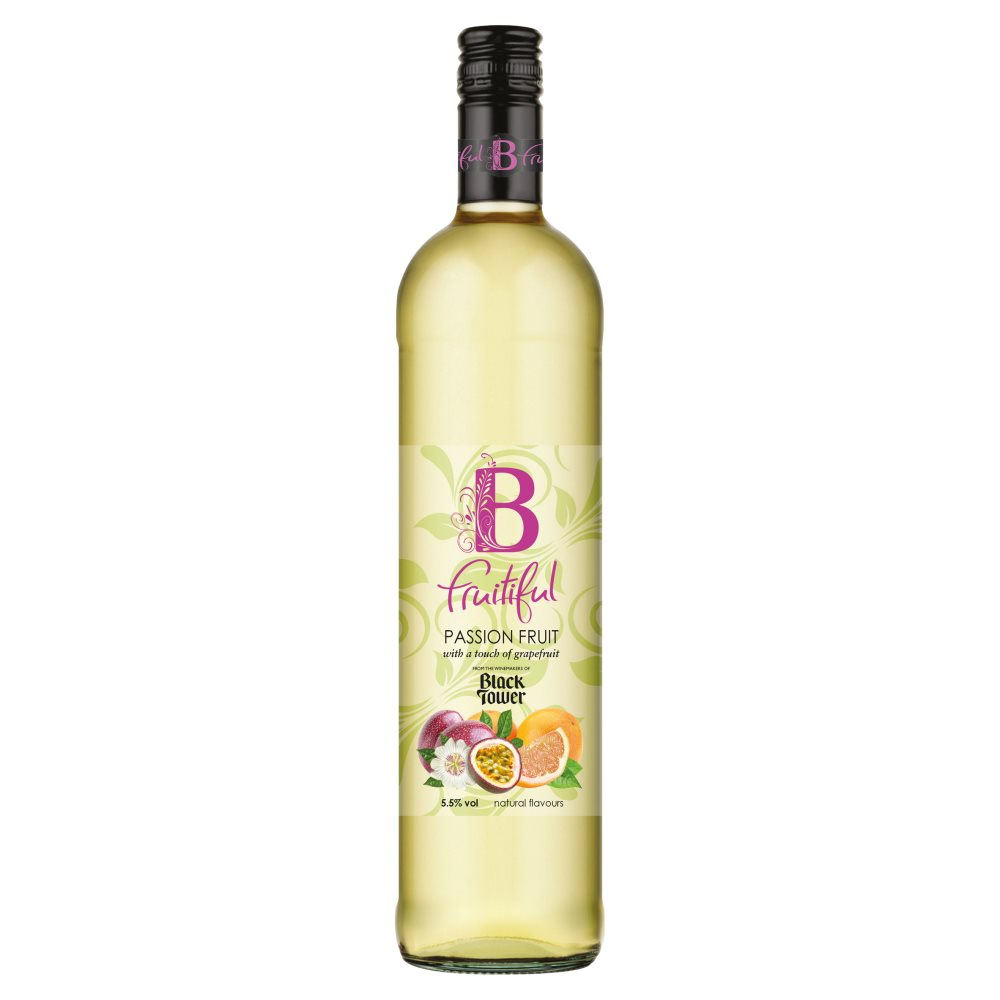 B Fruitiful Passionfruit With A Touch Grapefruit