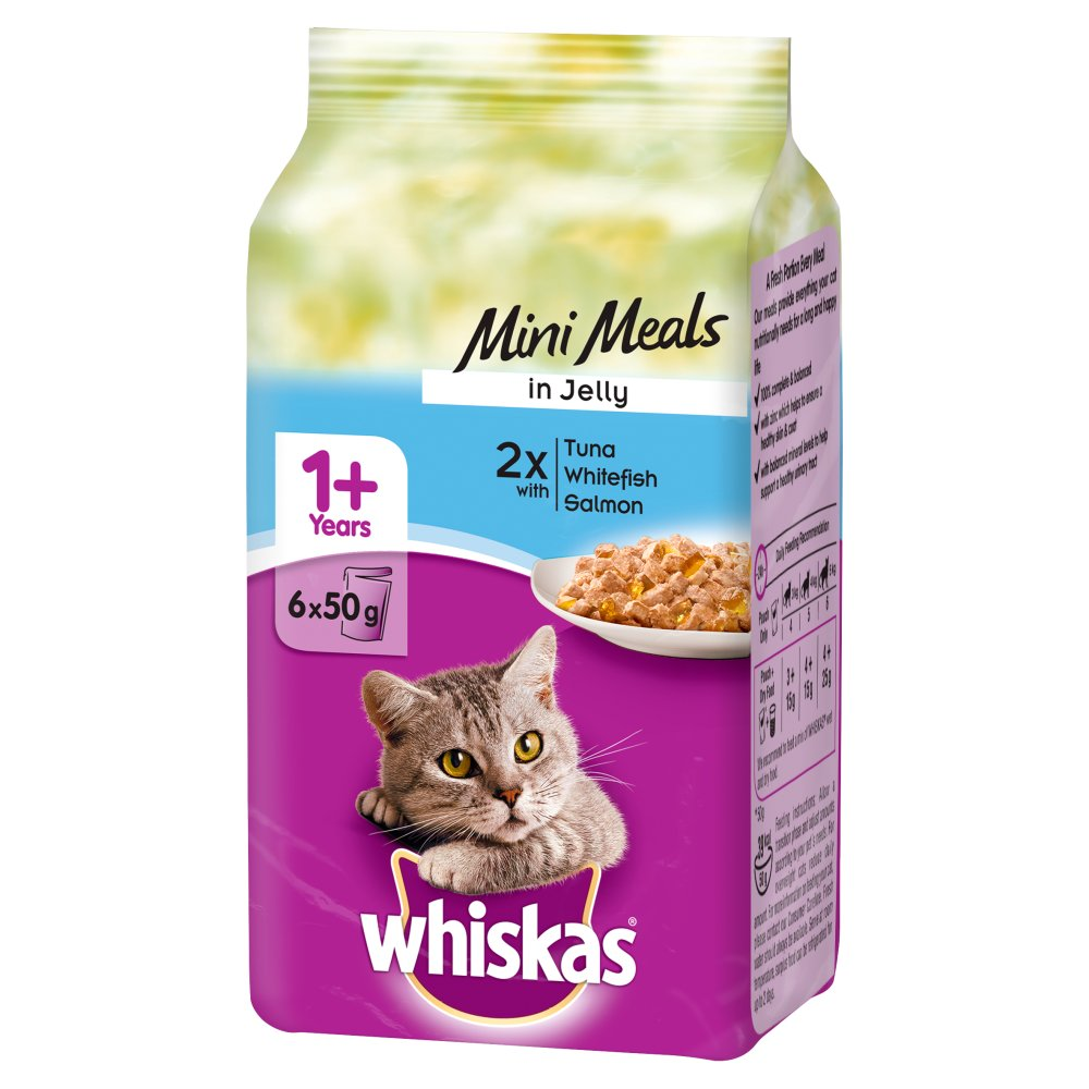Whiskas Pouch Fish In Jelly 6pack