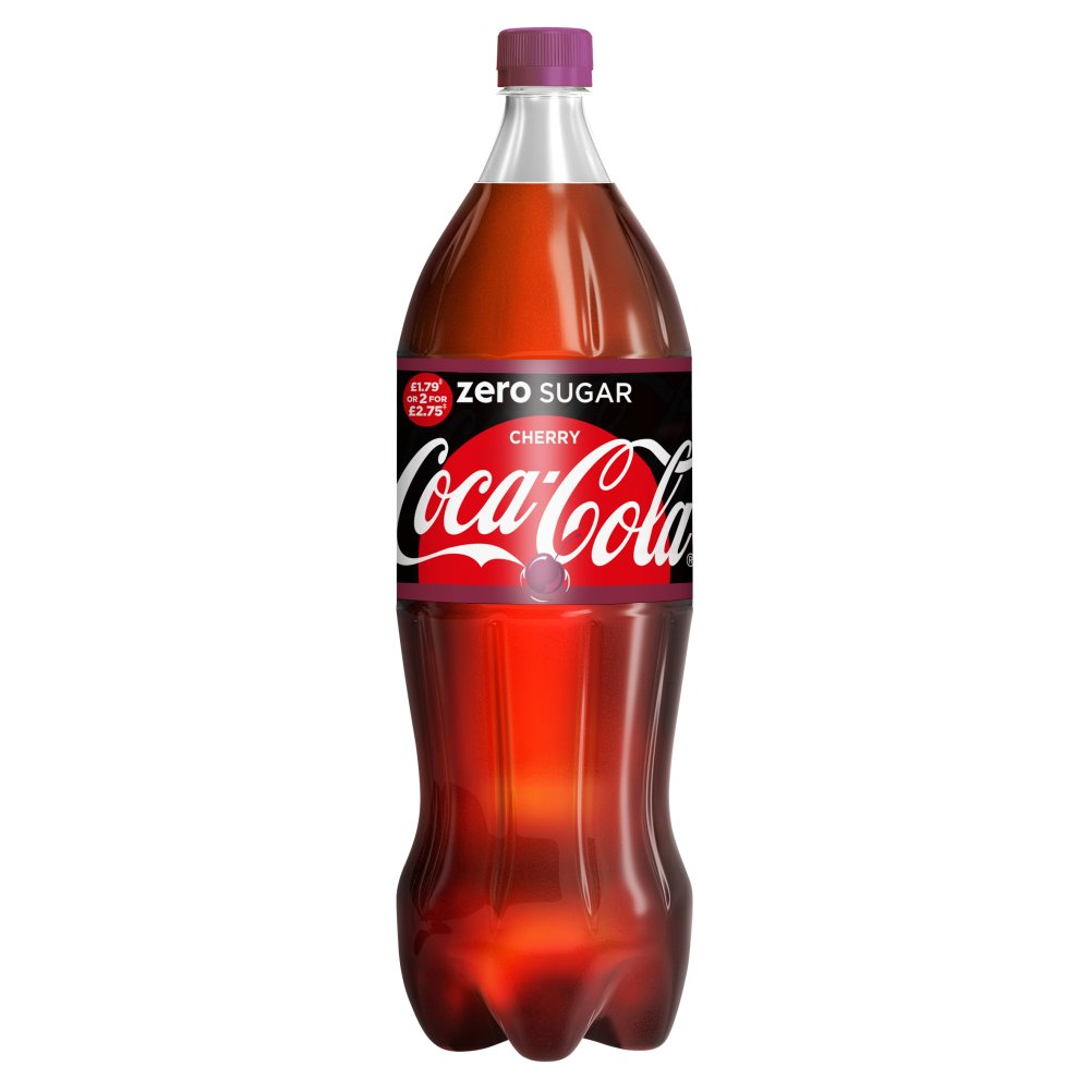 Coke Zero Cherry £1.79 2 For £2.75