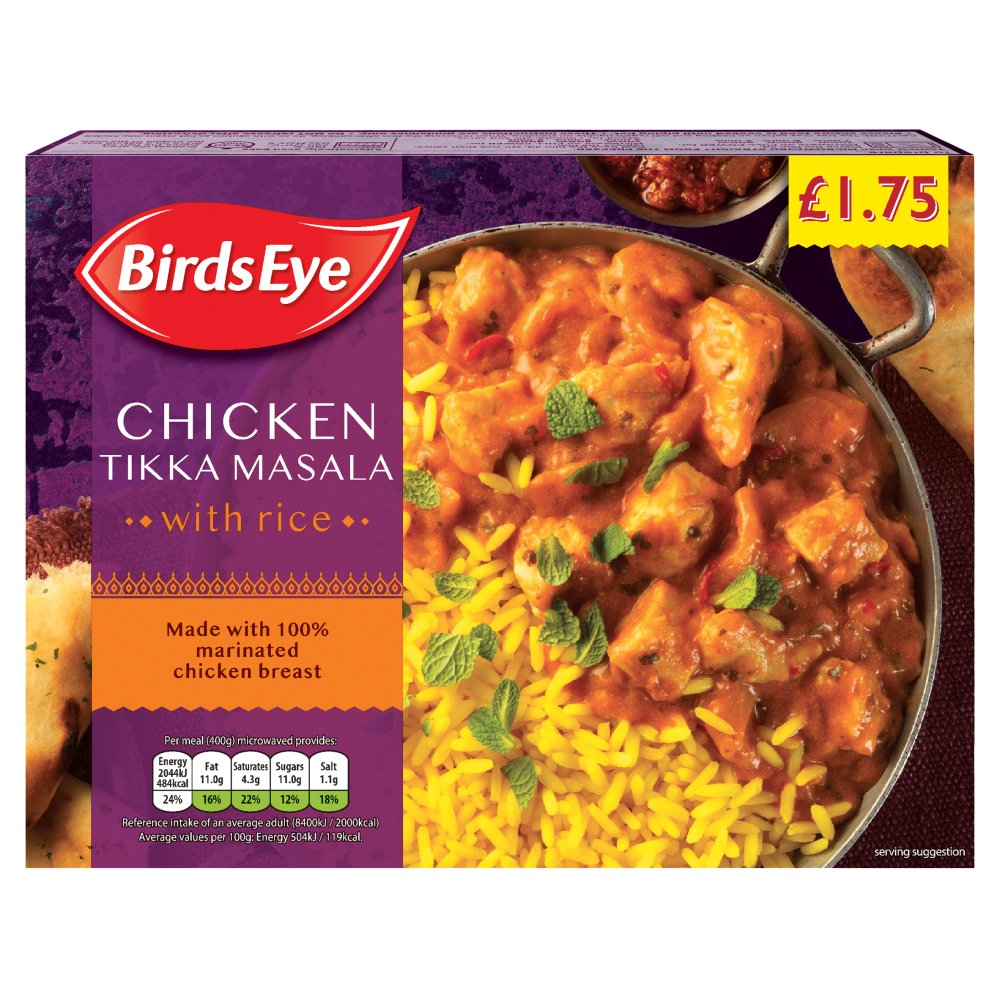 Birds Eye Chicken Tikka Masala PM £1.75