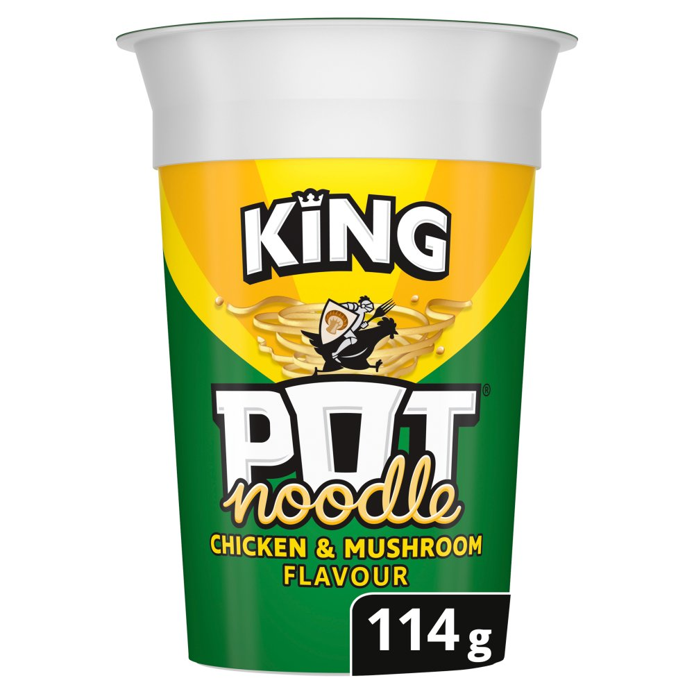Pot Noodle King Size Chicken & Mushroom