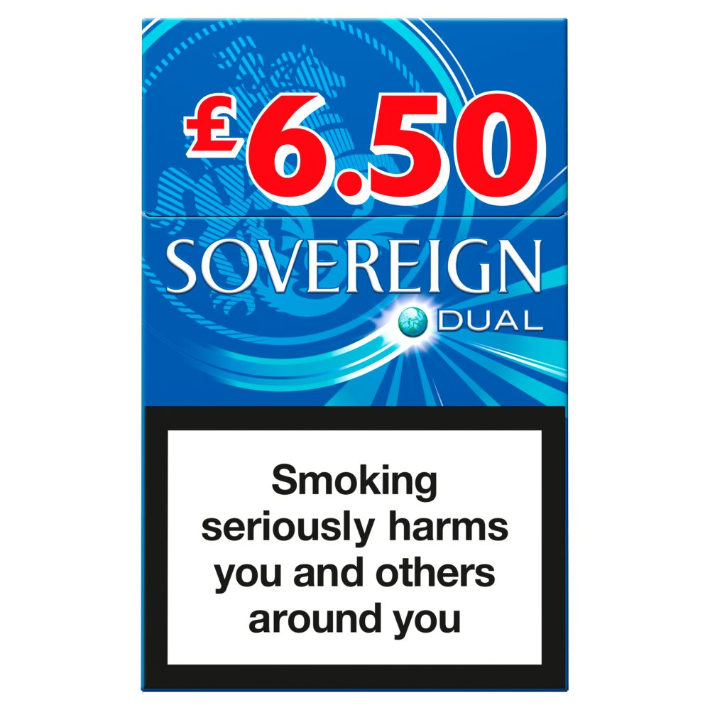 Sovereign King Size Dual £6.50