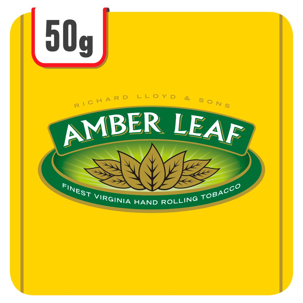 Amber leaf 50g rolling tobacco bestway wholesale for Amber leaf
