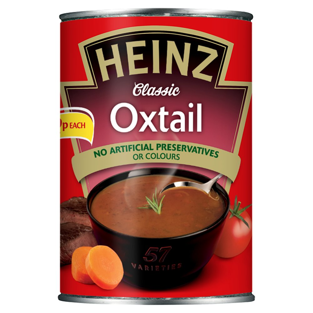 Heinz Soup Oxtail 99p