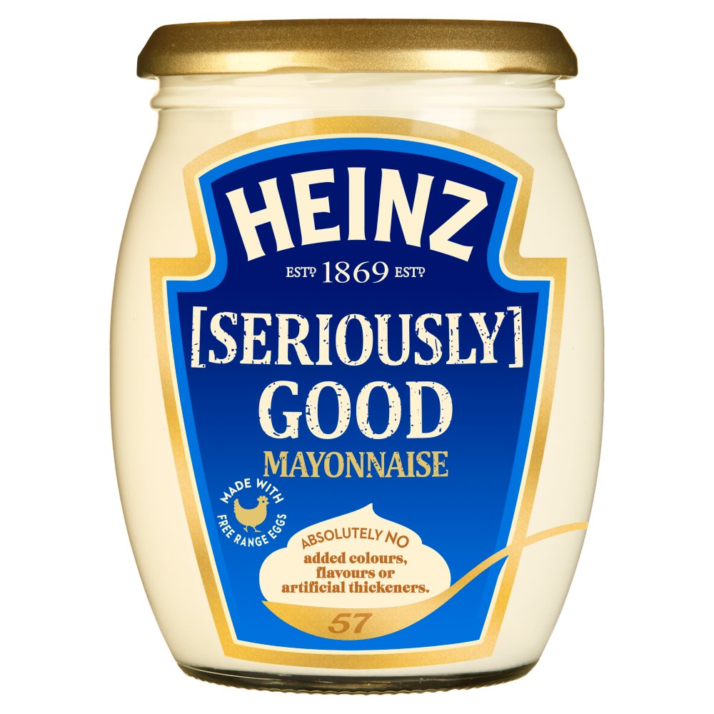 Heinz Mayo Glass Jar 460g
