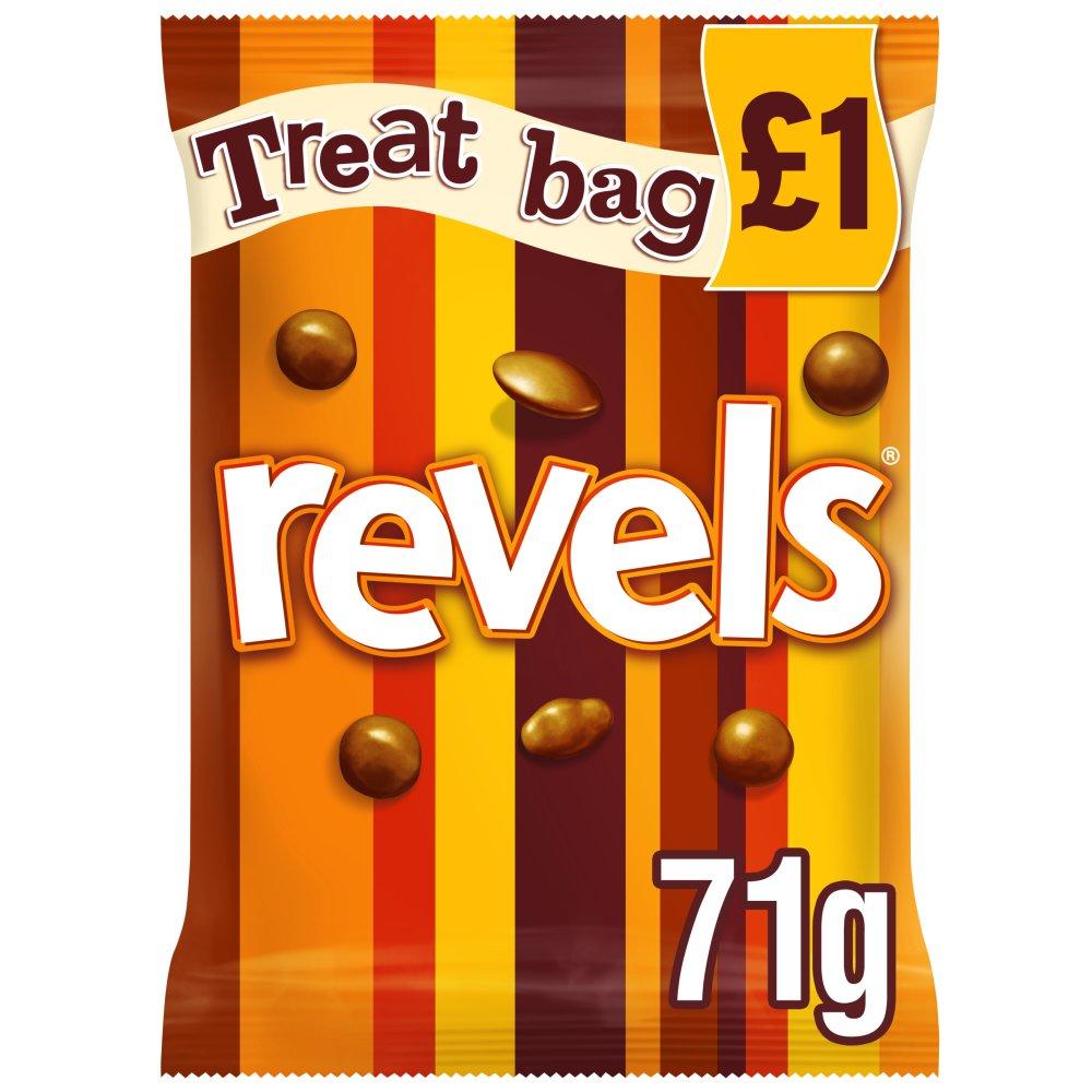 Revels Chocolate £1 PMP Treat Bag 71g