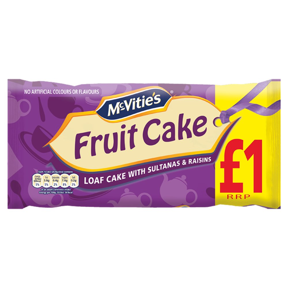 Mcv Fruit Cake £1 PMP
