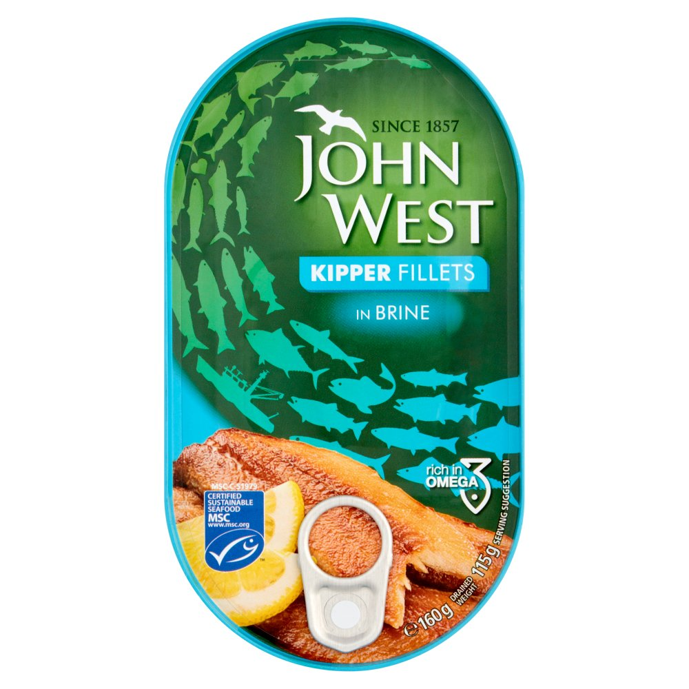 John West Kipper Fillets Brine