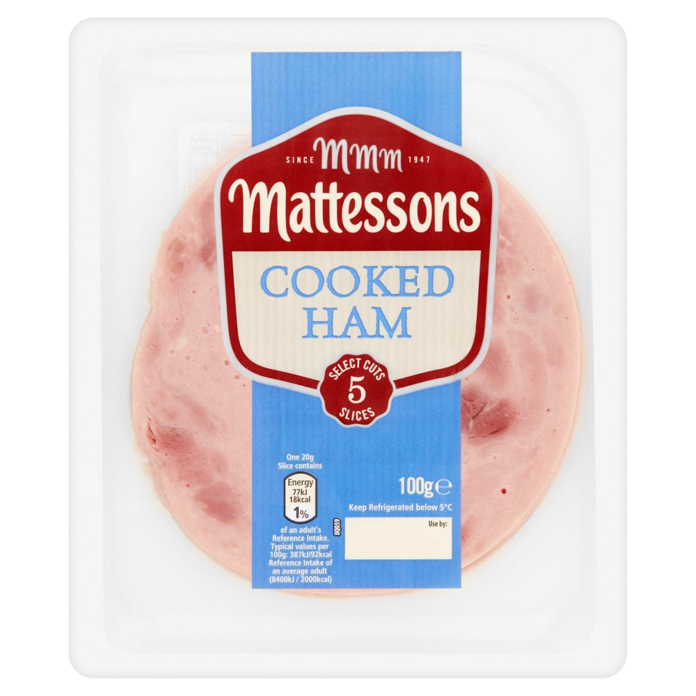 Mattessons Cooked Ham PM £1