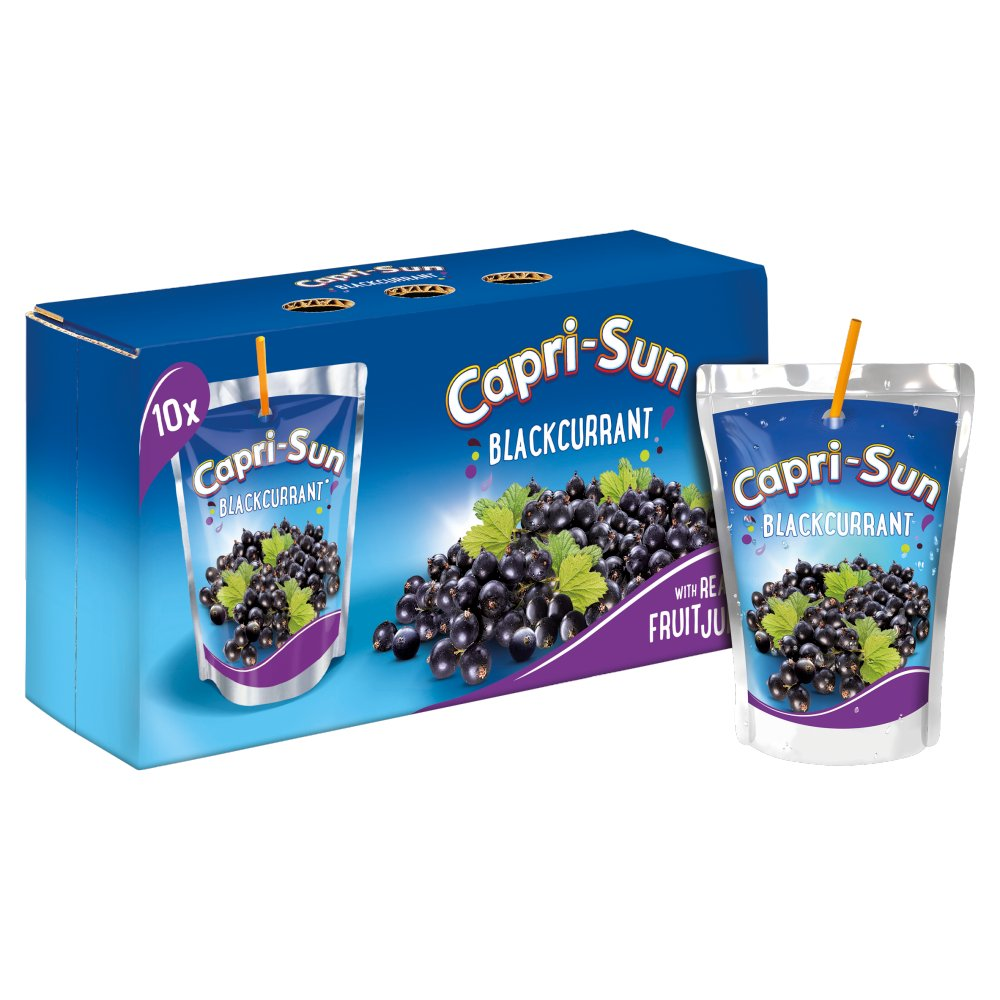Capri-Sun Blackcurrant Juice Drink 200ml