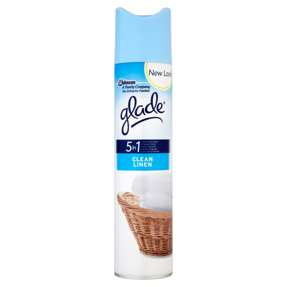 Glade Aerosol Clean Linen 300ml