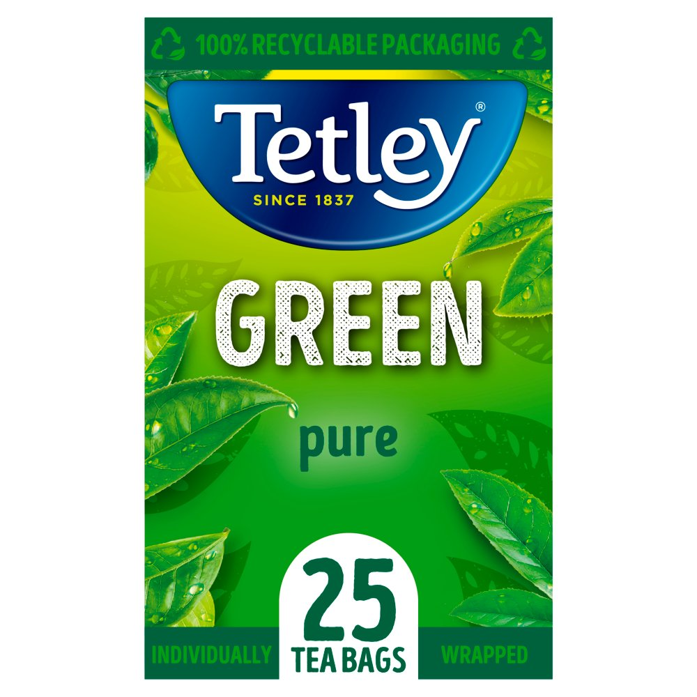 Tetley Green Tea Bags x25