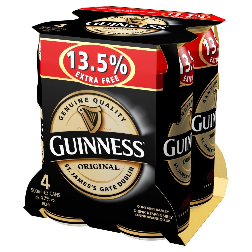 Guinness Original 4 x 500ml