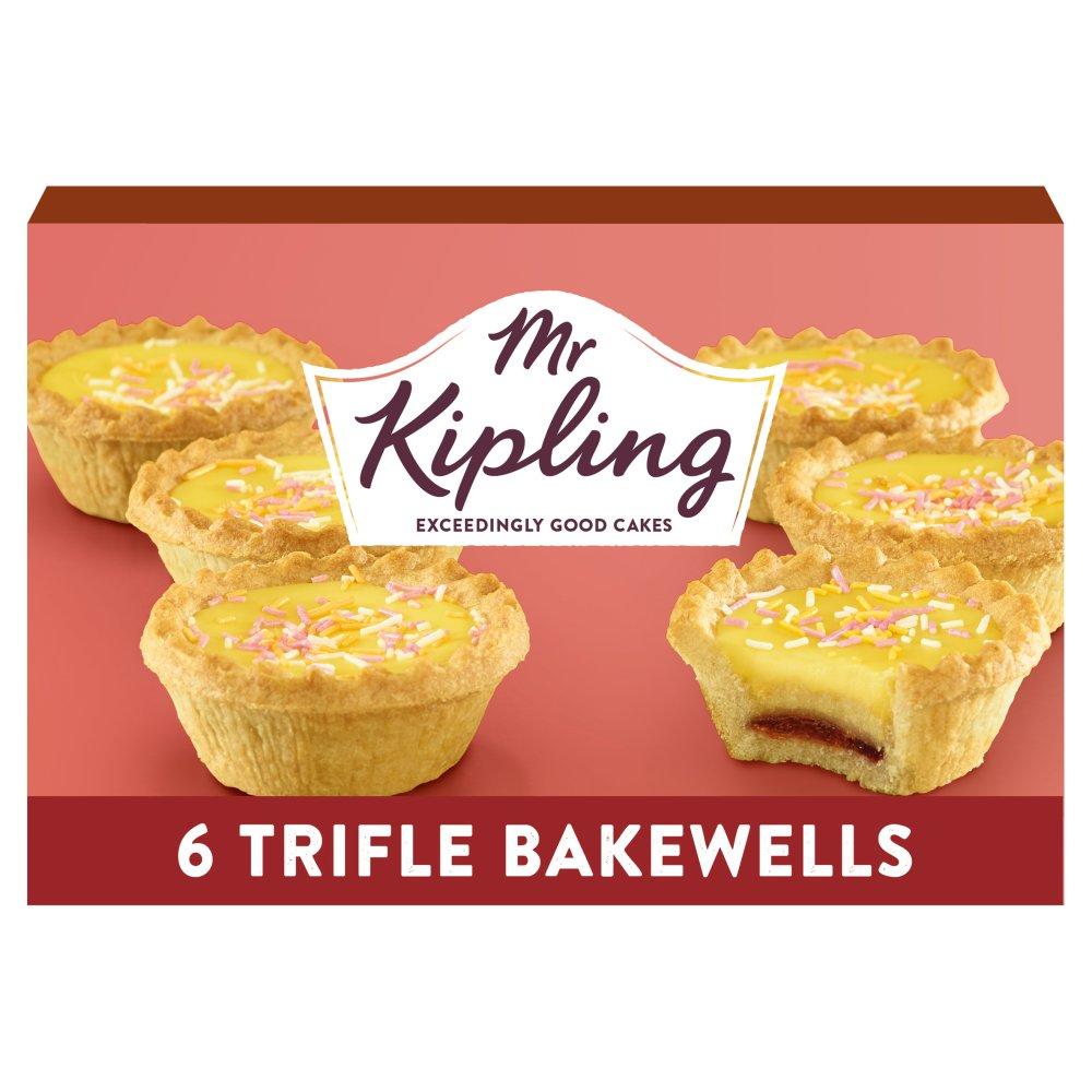 Mr Kipling 6 Trifle Bakewells