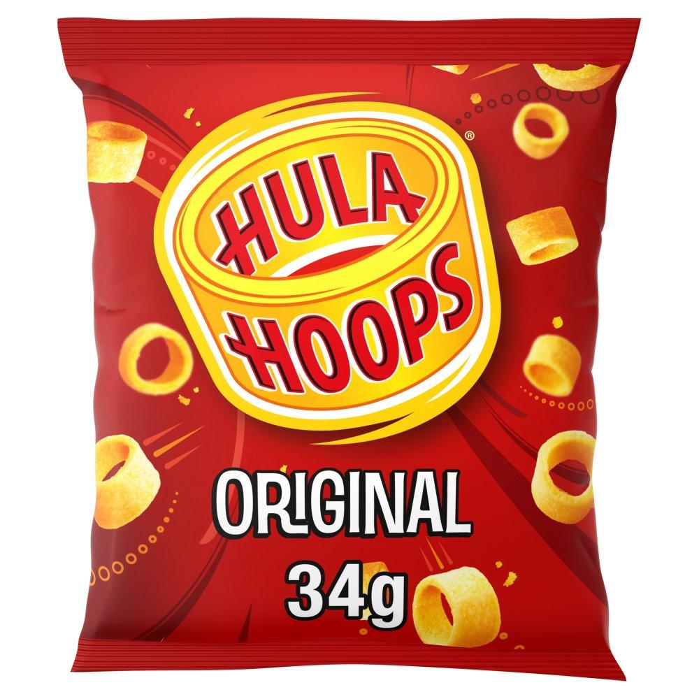Hula Hoops Original Potato Rings 34g