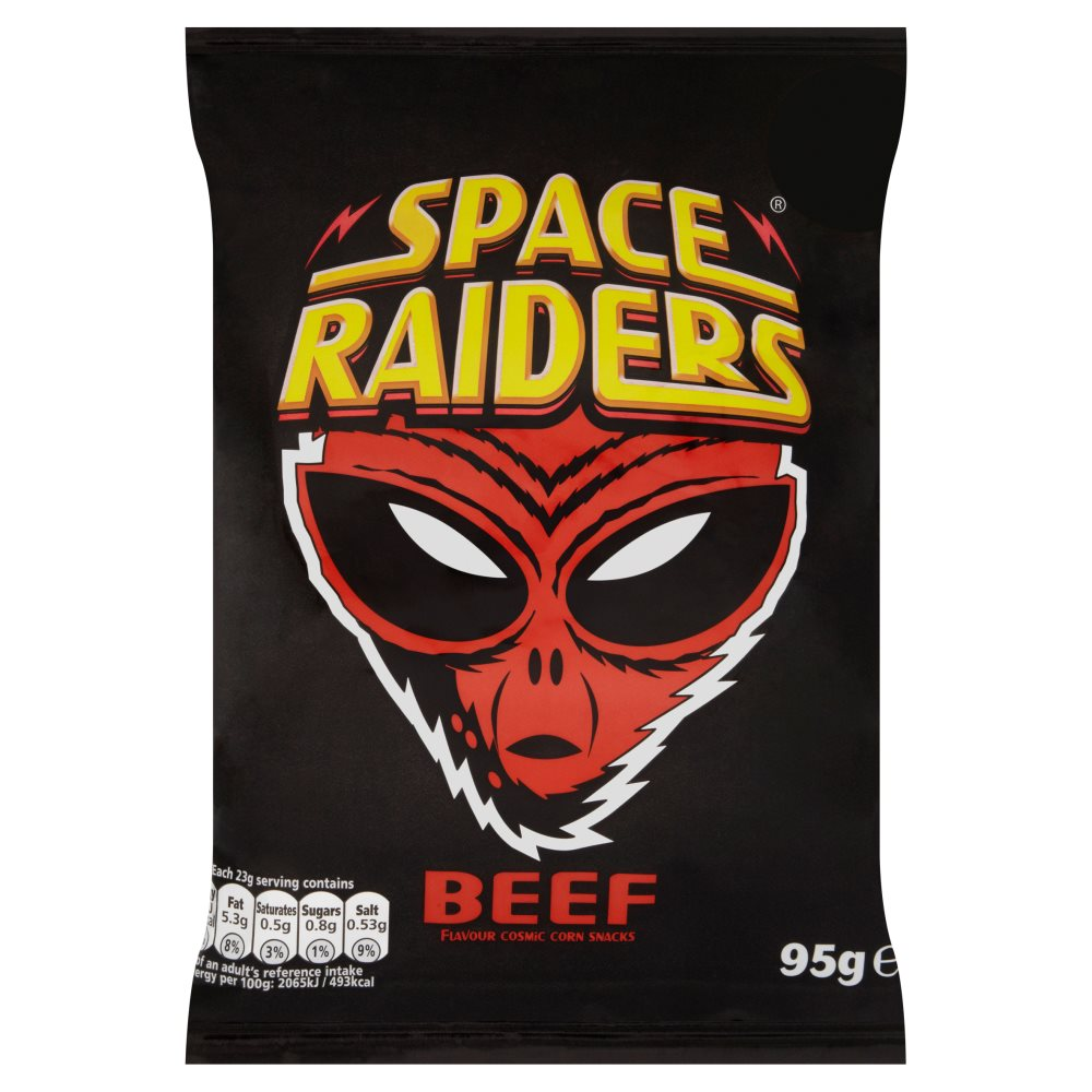 Space Raiders Beef PM £1