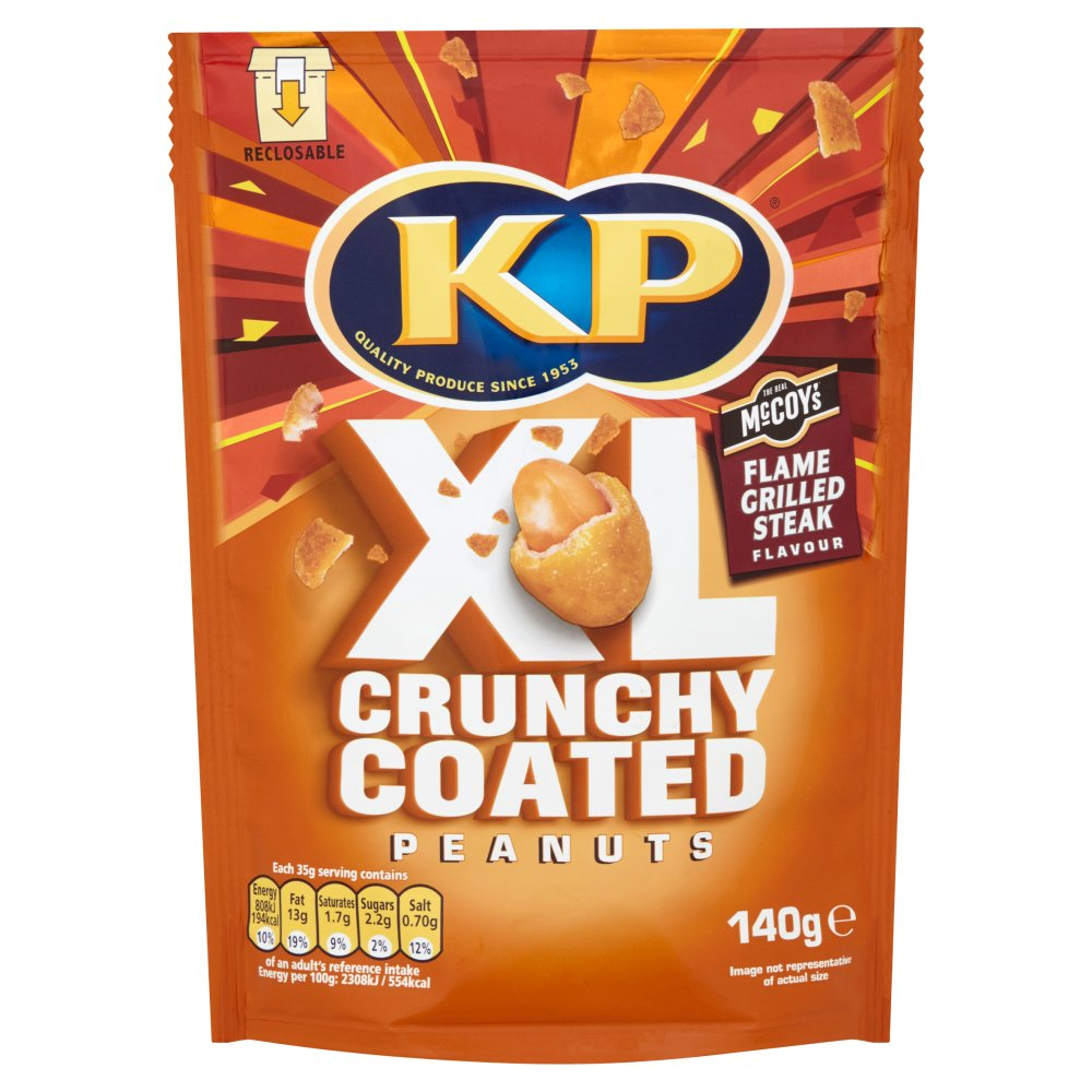KP Xl Crunchy Coated Peanut Flame Grilled Steak