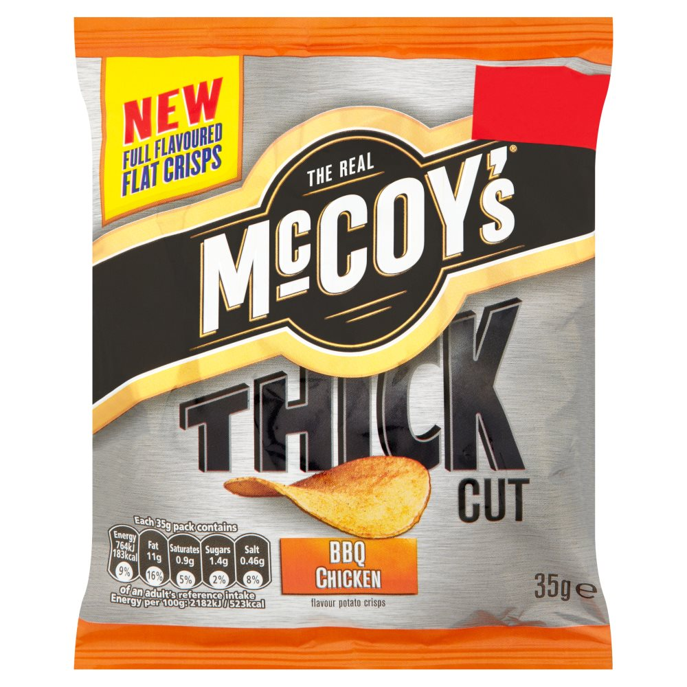 Mccoys Thick Cut BBQ Chicken 50p
