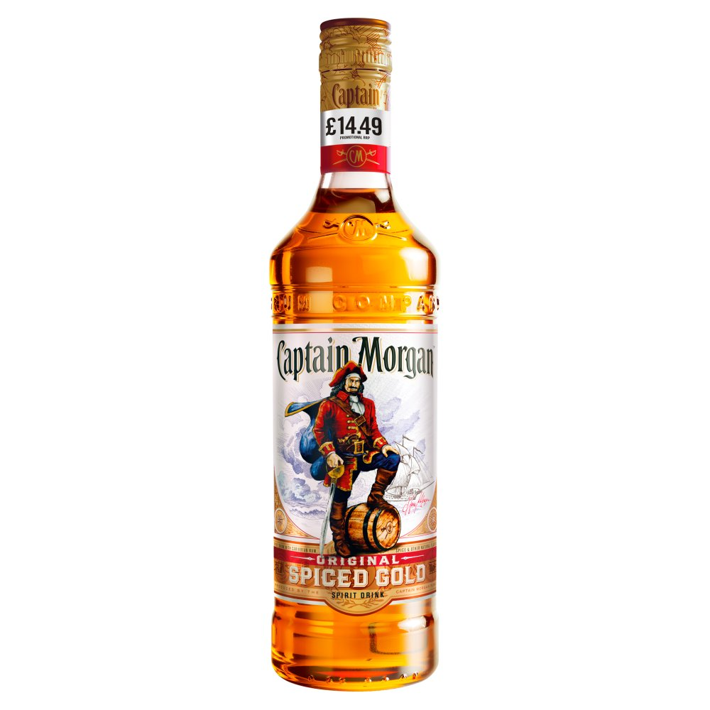 Captain Morgan The Original Rum 70cl PMP £14.49