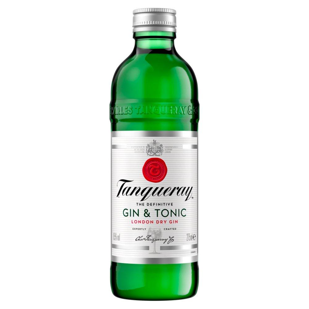 Tanqueray London Dry Gin & Tonic 275ml