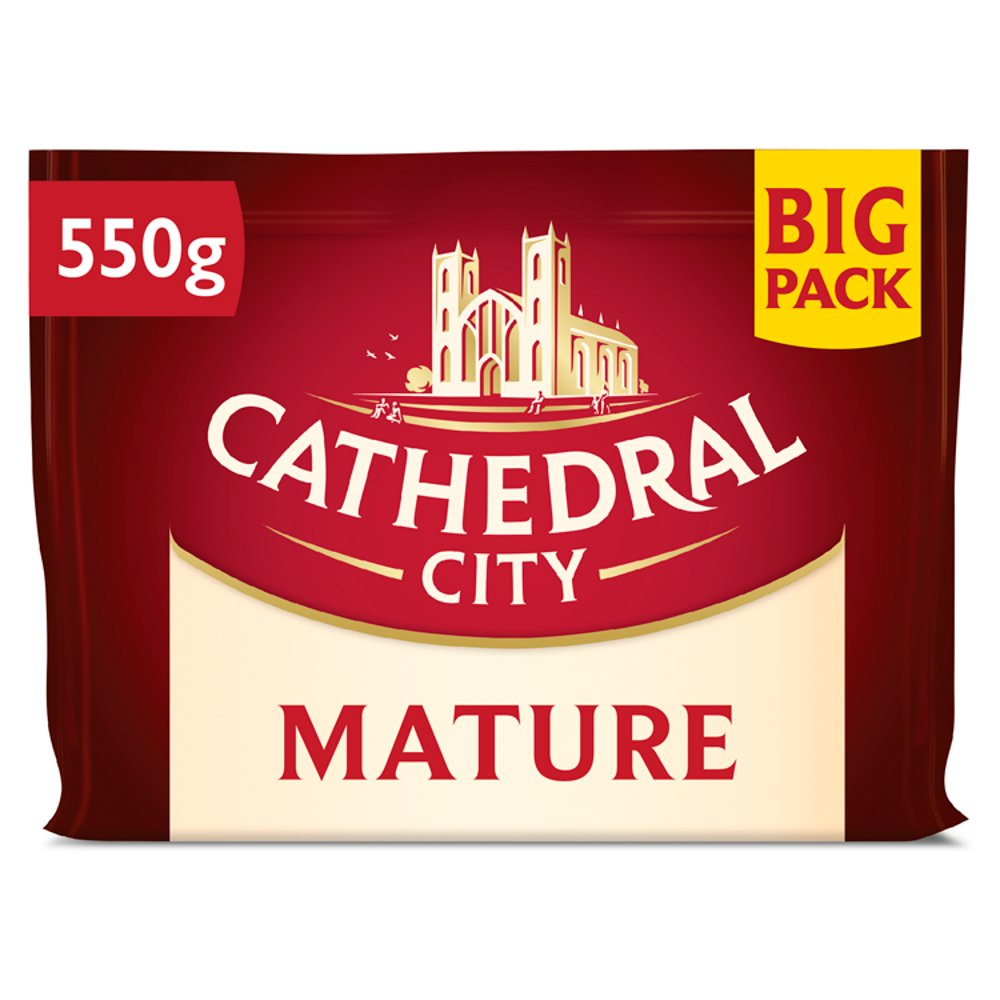 Cathedral City Mature Cheddar Big Pack 550g