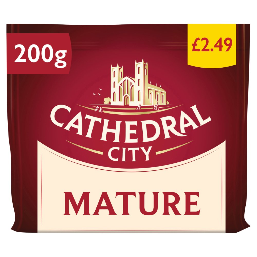 Cathedral City Mature Cheddar Cheese 200g PM £2.49