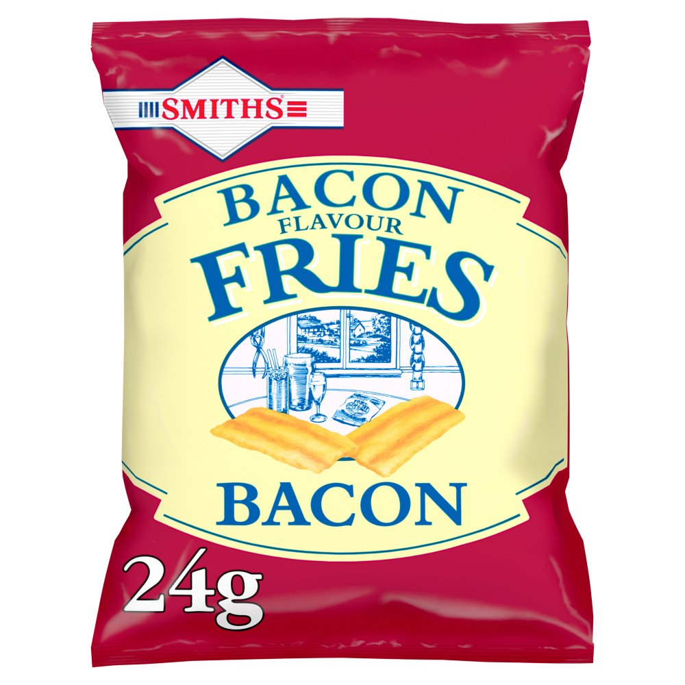 Smiths Bacon Fries Snacks Card