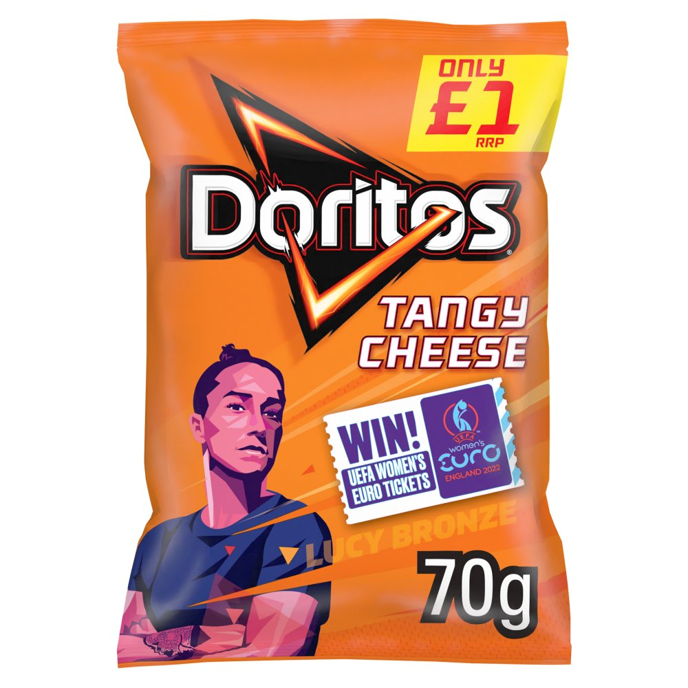 Doritos Tangy Cheese Tortilla Chips £1 PMP 70g