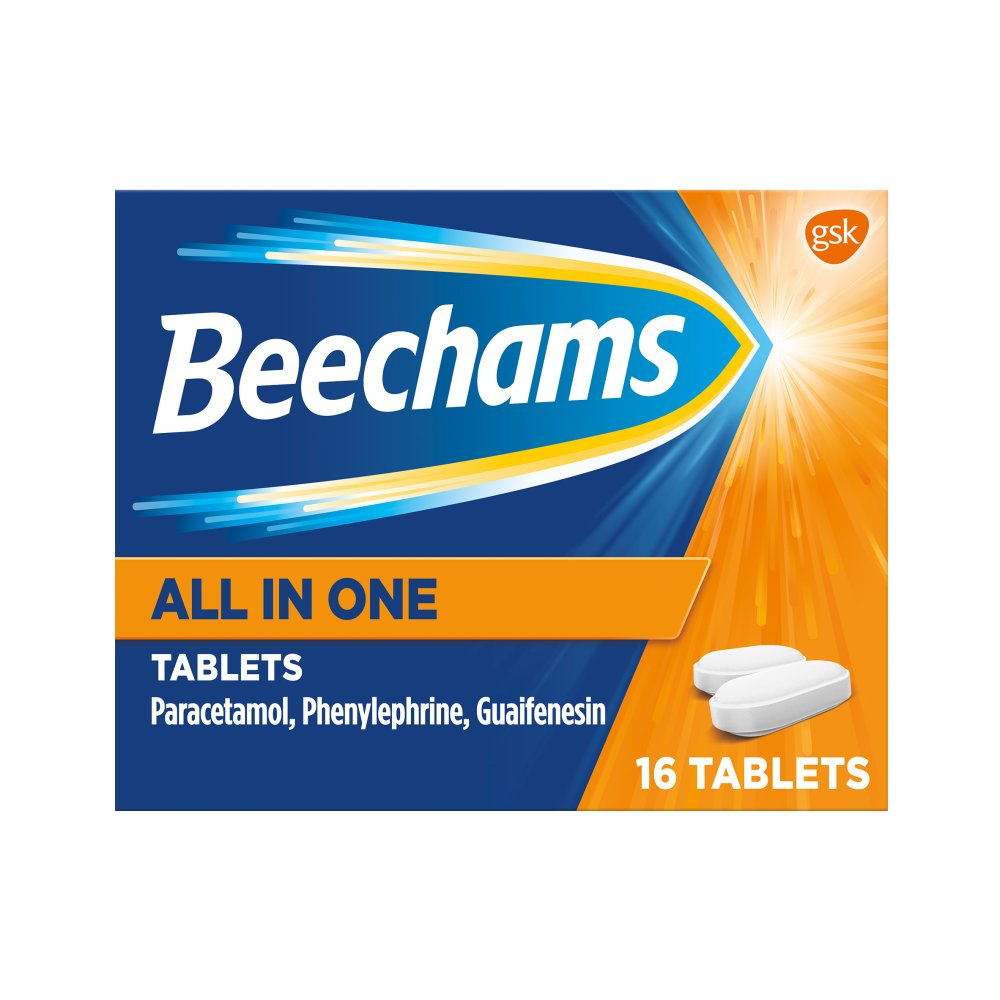 Beecham All In One Tablets 16s
