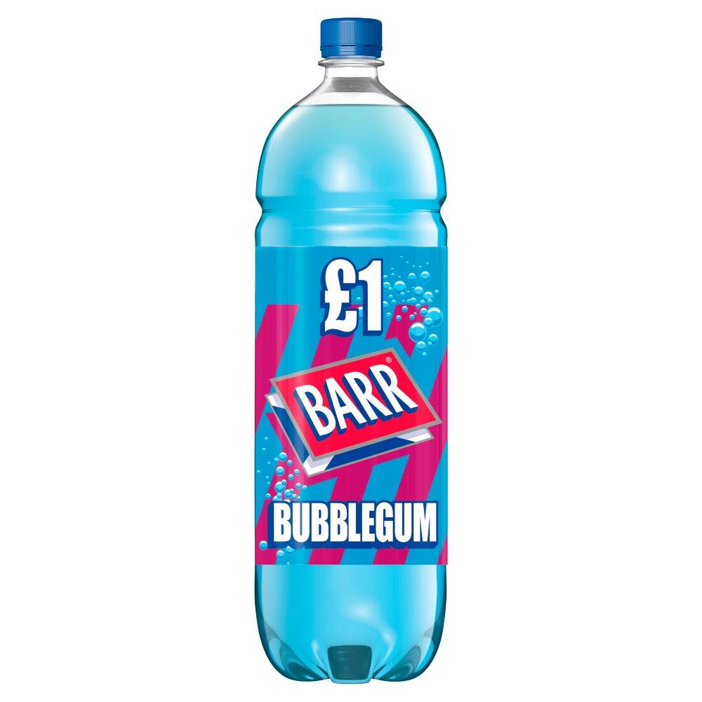 Barr Bubblegum 2L Bottle, PMP £1