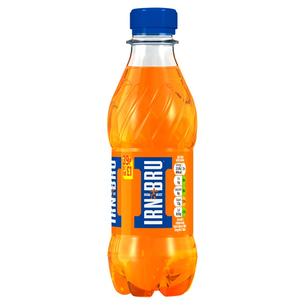 IRN-BRU 250ml Bottle, PMP 39p or 3 for £1