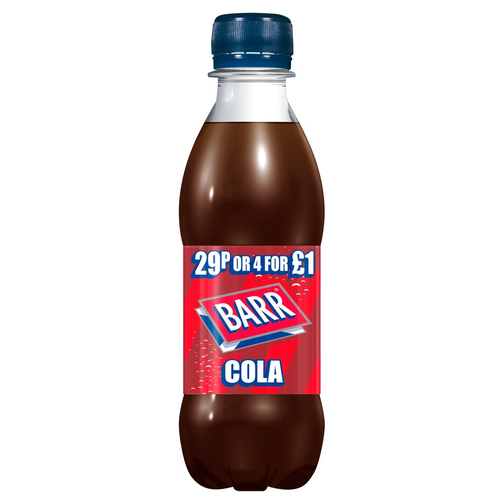 Barrs Cola 29p Or 4 For £1.00