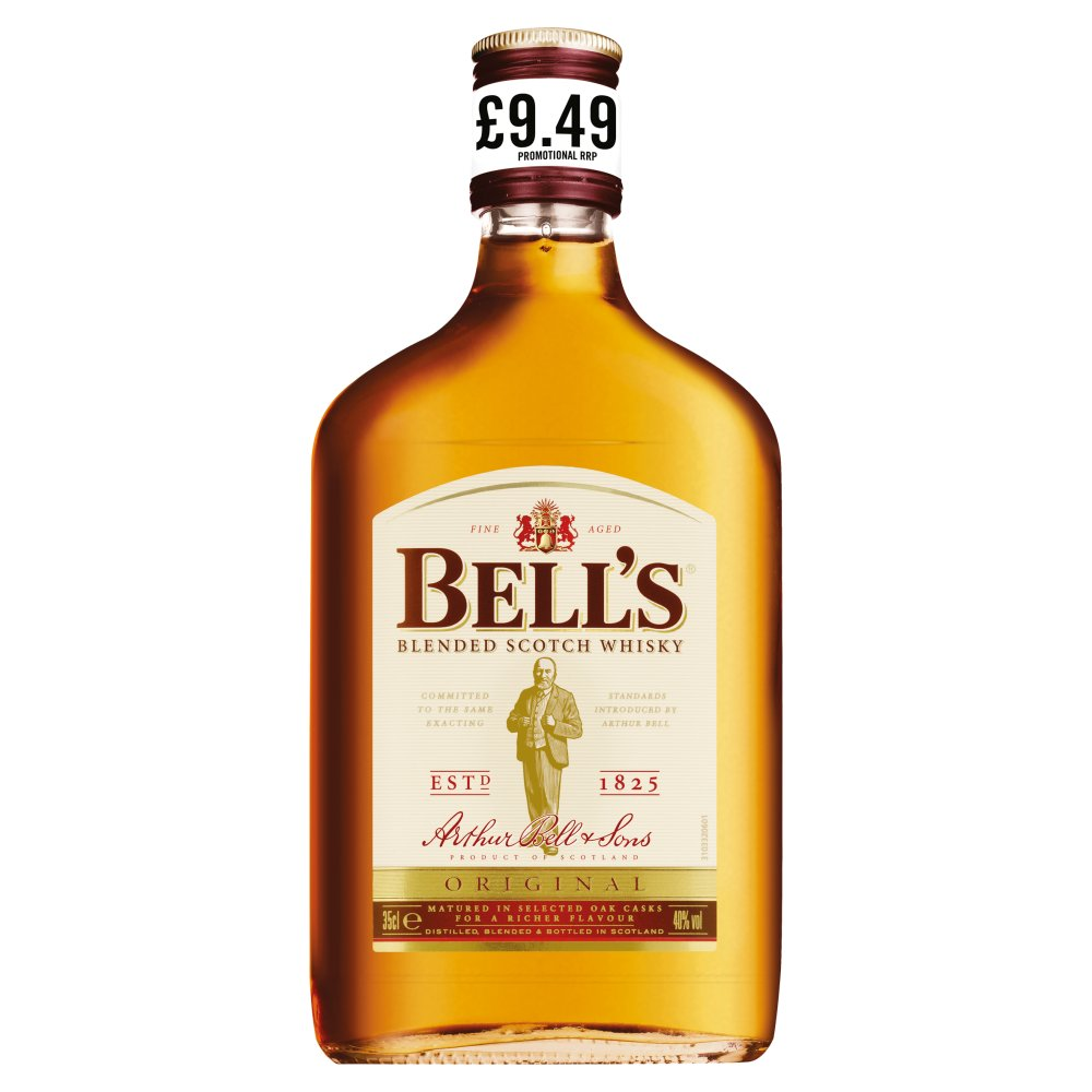 Bell's Blended Scotch Whisky 35cl £9.49