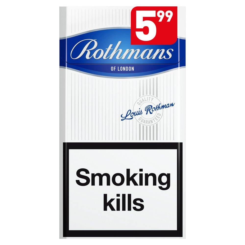 Rothmans Superking Value Blue £5.99