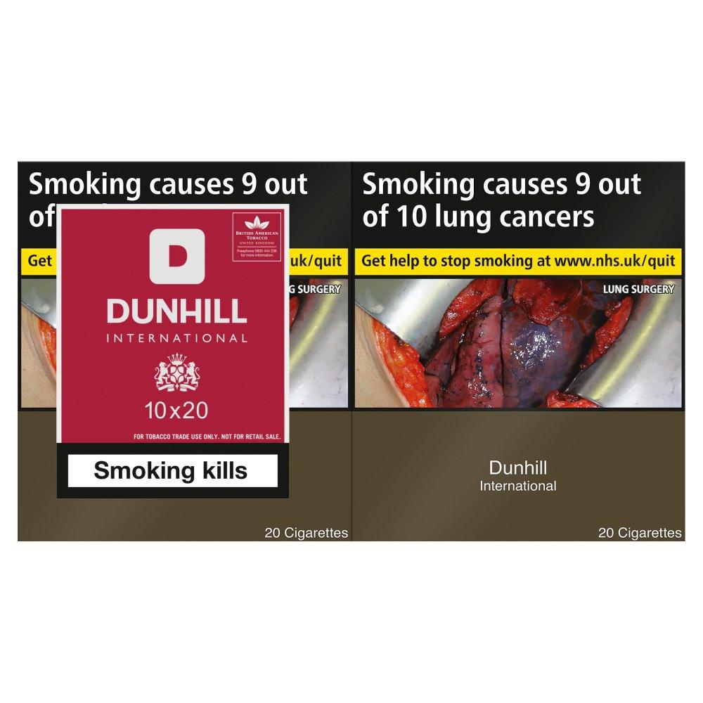 Dunhill Cigarettes Official Website Australia Karmashares Llc Mild 20 International 10 X