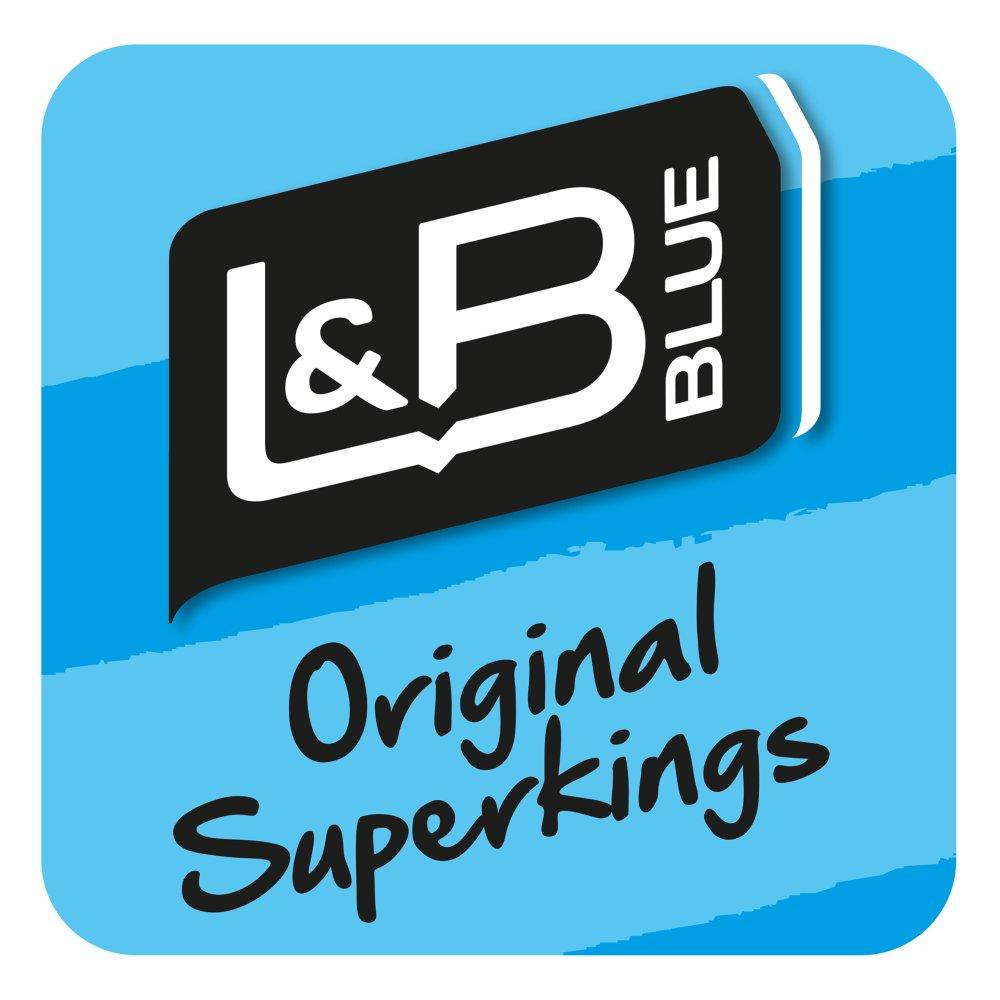 L&B Blue Longer Lasting Superkings 20