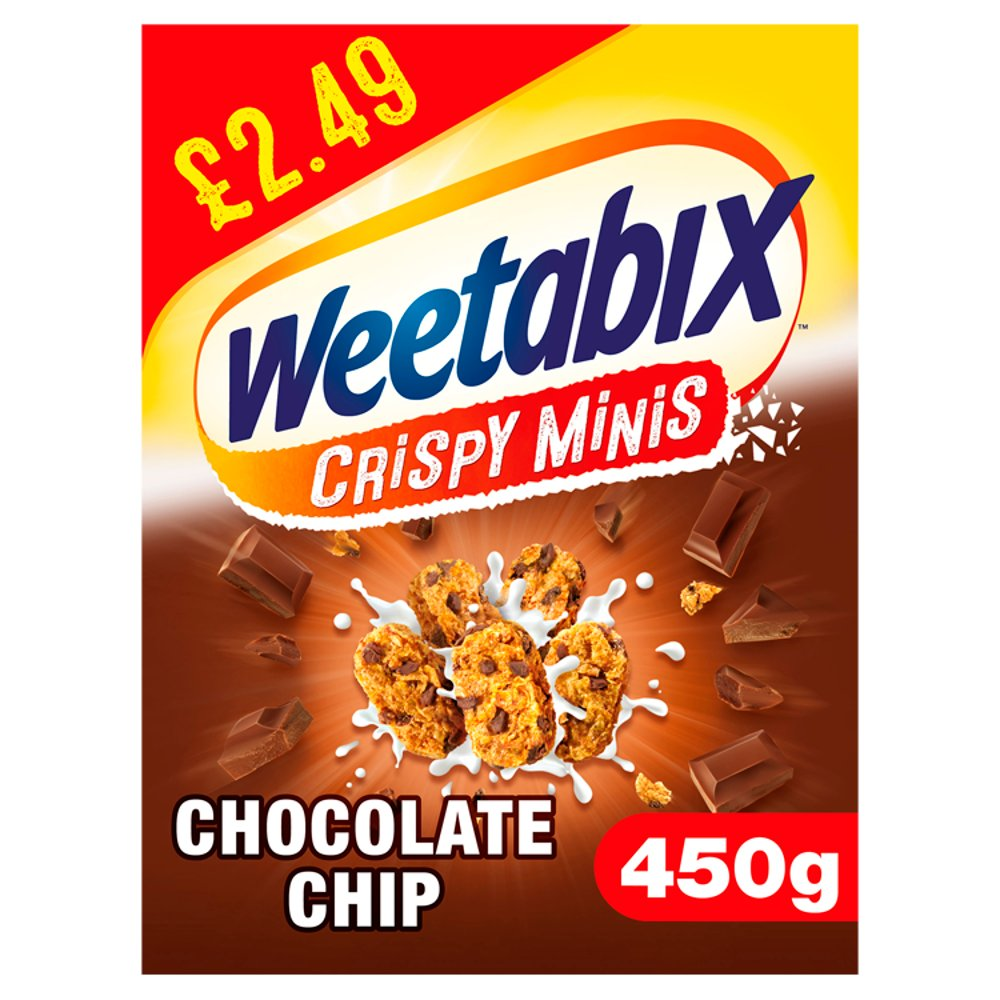Weetabix Minis Chocolate Cereal Case 10 x 450g PMP £2.49
