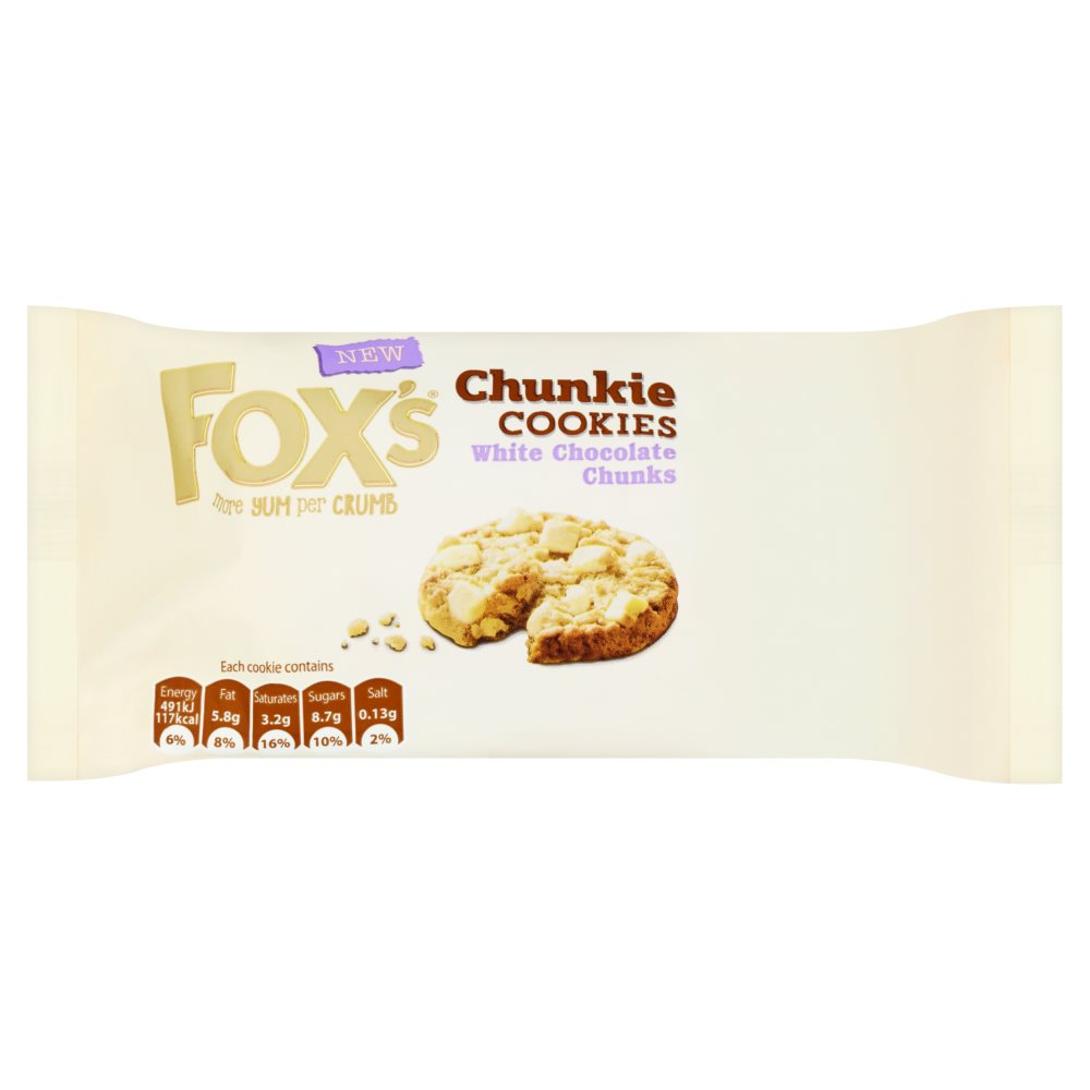 Fox White Chocolate Chunk Cookie PM £1.29