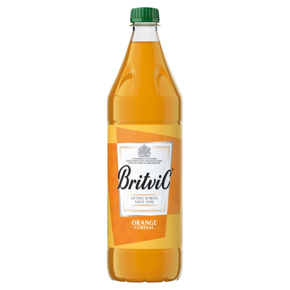 Britvic Orange Cordial 1Ltr