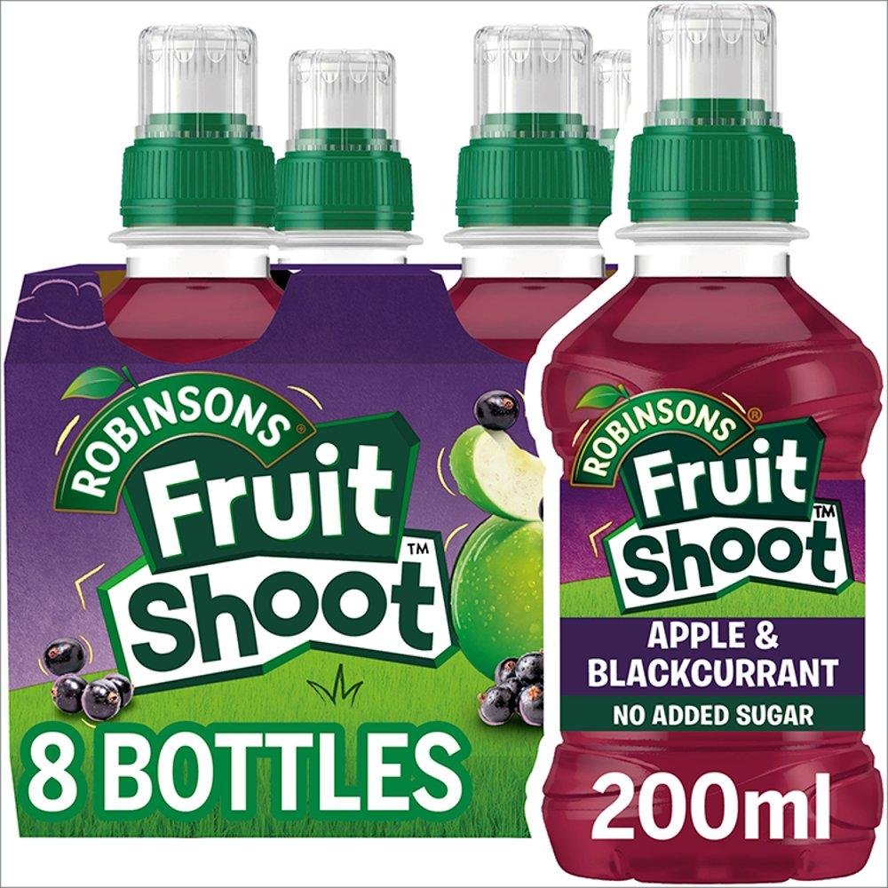 Robinsons Fruit Shoot Apple & Blackcurrant Juice Drink 8 x 200ml