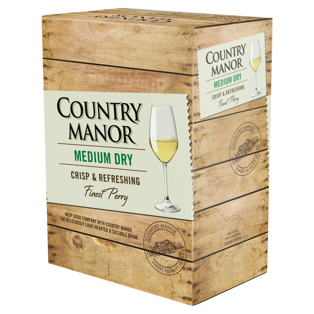 Country Manor Med Dry 3Ltr