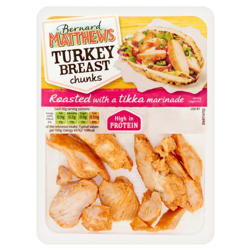 Bernard Matthews Tikka Turkey Breast Chunks 90g