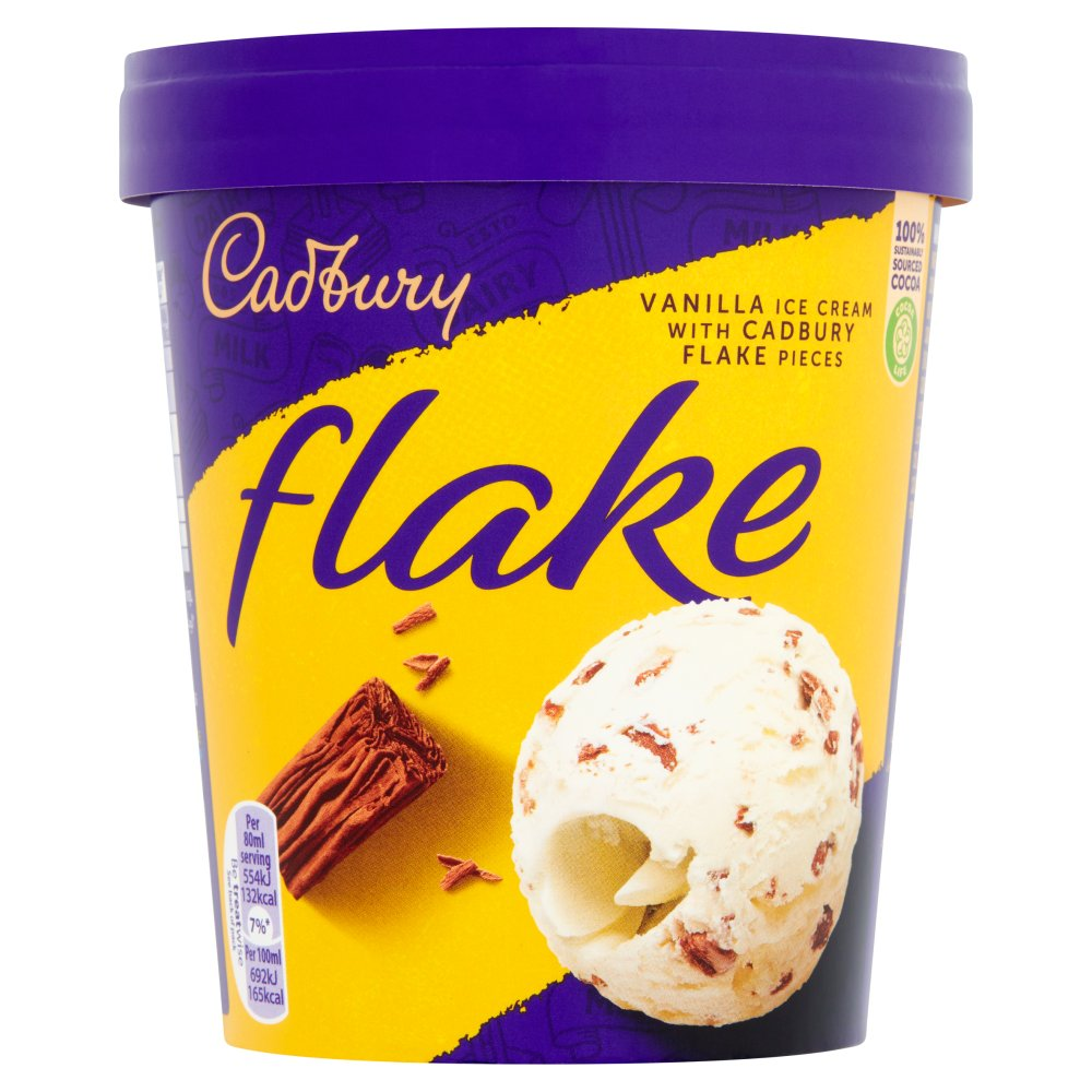 Cadbury Flake 99 Tub 480ml