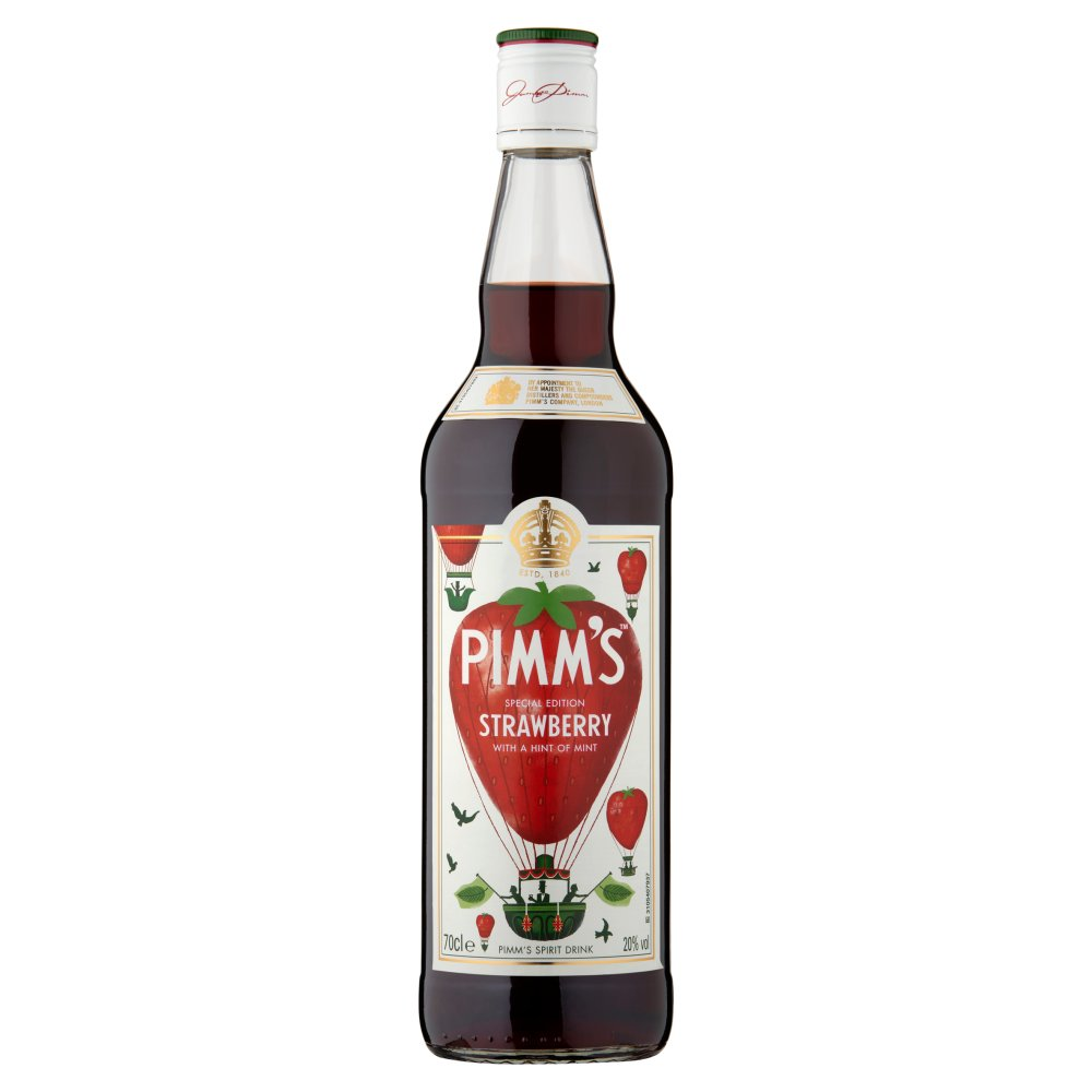 Pimms Strawberry With A Hint Of Mint 70cl