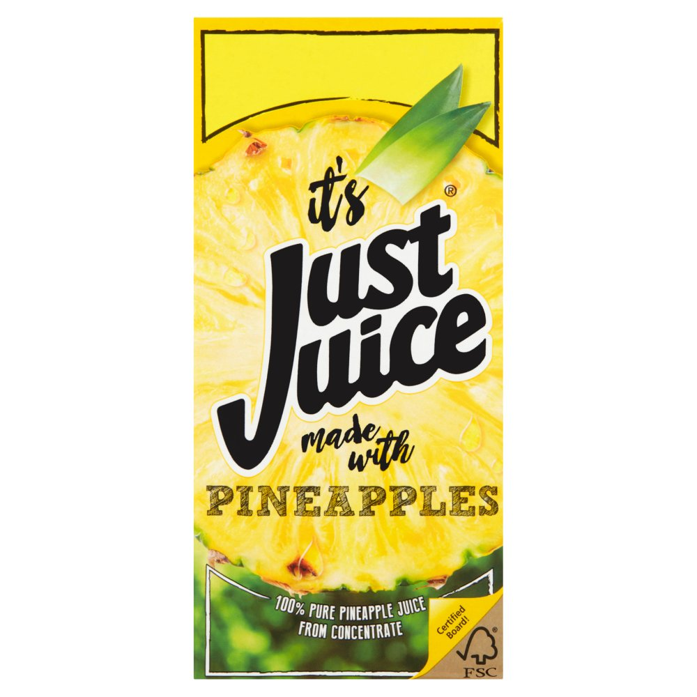 Just Juice Pineapples 1 Litre